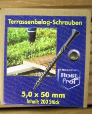 Edelstahl Torx 5 x 50mm
